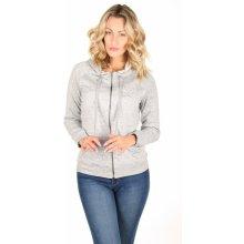 Pepe Jeans dámská šedá mikina Lexi na zip s kapucí 933 bf7cb210b0
