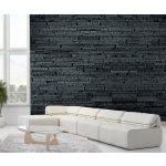 Wall Tapeta Tmavá kamenná stěna 315x232 cm