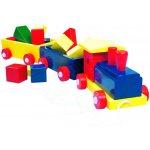 Vlak velký Bino barevný 2 vagony