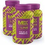 Fitness Authority Mex Triple Omega 3 90 kapslí