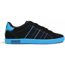 Lonsdale Oval Trainers Mens Black/Blue