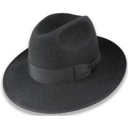 4c1ea9282 Luxusní plstěný klobouk černá Q9030 11042/10CC od 2 657 Kč - Heureka.cz