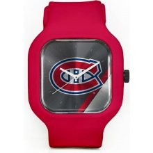 Old Time Hockey Montreal Canadiens Modify Watches Silicone červené
