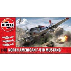 a73d17b3e Airfix North American F 51D Mustang A05136 1:48