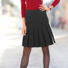 Blancheporte dámská skládaná strečová sukně B658088 černá