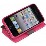 Pouzdro Book Flexi Pocket Samsung Galaxy S3 Mini (i8190,i8200) Růžové