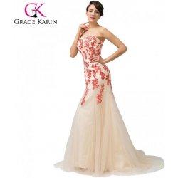 Grace Karin společenské šaty dlouhé CL6171-2 ivory alternativy ... 252daae1db