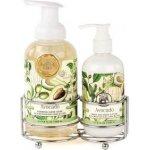 Michel Design Works péče o ruce Avokádo Tekuté mýdlo 530 ml + mléko na ruce 236 ml dárková sada