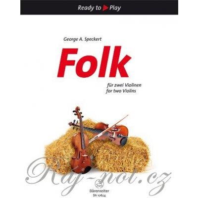 Folk for two Violins - dvoje housle