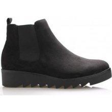 Claudia Ghizzani Kotníkové kozačky kotníkové boty s elastickou částí černé