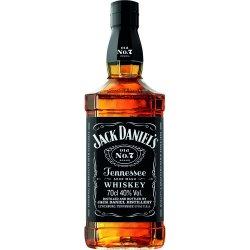 Jack Daniel's Old No. 0,7 l (holá láhev)
