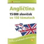 Angličtina – 15 000 slovíček ve 150 tématech - velký přehled slovíček - Hans G. Hoffmann