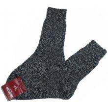 pánské vlněné teplé ponožky Lesan - tmavší barva 6829c5ec91