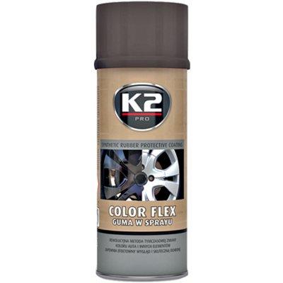 K2 COLOR FLEX 400 ml matně černý