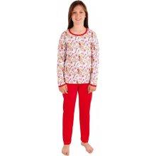 EVONA a.s. dívčí pyžamo P 1413 eiffelovky