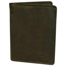 Jesus pánská kožená peněženka černá