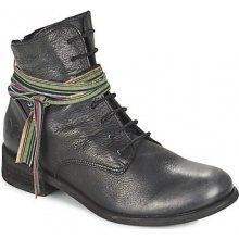 Felmini kotníkové boty BOMBER černé