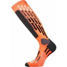 VoXX podkolenky Vxpres neon oranžová běžecké kompresní podkolenky
