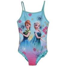 Dětské dívčí jednodílné plavky Sun City dqe 1808 Frozen tyrkysové