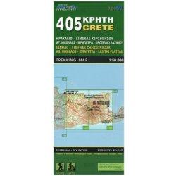 Iraklio Lasithi Plateau Kreta 1 50 000 Turisticka Mapa Orama 405