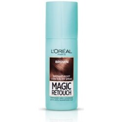 L´Oréal Vlasový korektor šedin a odrostů Magic Retouch (Instant Root Concealer Spray) 03 Brown 75 ml