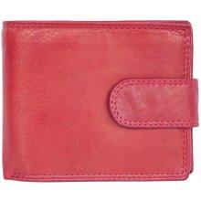 Pánská kožená peněženka Kabana červená