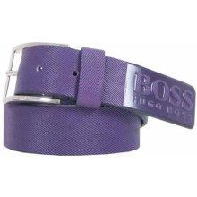 Hugo Boss pásek Tincenzo-N fialový