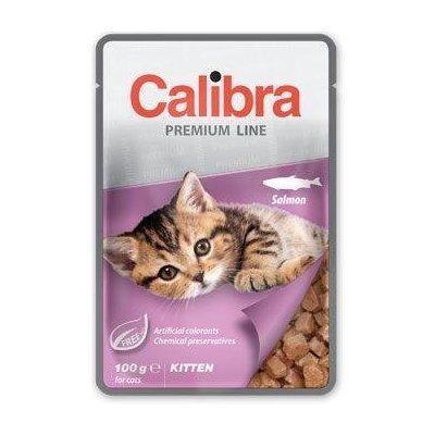 Calibra Vlhké krmivo Calibra Cat kapsa Premium Kitten Salmon 100g