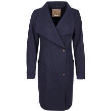 Dreimaster dámský kabát s příměsí vlny 39036842 marine