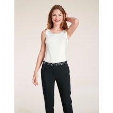 !!! Ashley Brooke by Heine s ozdobnou aplikací vlněná bílá