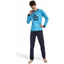 "Chlapecké pyžamo Cornette ""Parkour"" 967 27 modrá"