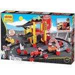 Écoiffier 3042 Abrick Garáž F1 se závodní dráhou a 4 autíčky