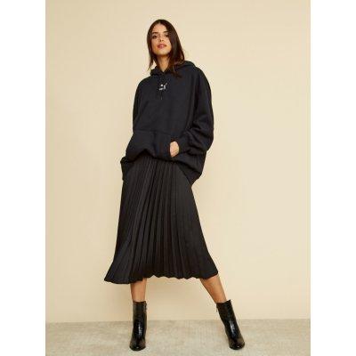Zoot plisovaná midi sukně Kate černá
