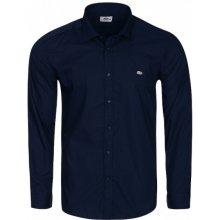 Lacoste Pánská Košile námořnická modř 47a29c3d8e