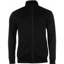 Lonsdale Track Jacket Mens Black Charcoal