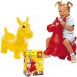 John - Koník skákací zvířátko - červená