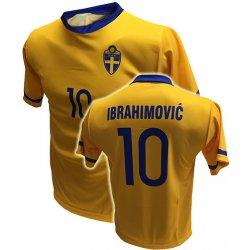 d01ff25fb Trops Sport Fotbalový dres Švédsko IBRAHIMOVIČ alternativy - Heureka.cz