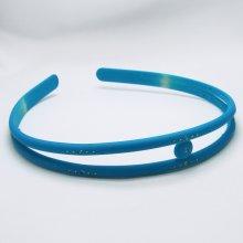 Zářivá čelenka s kamínky Barva: Modrá