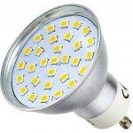 PremiumLED LED žárovka 3,2W 30xSMD2835 GU10 300lm Teplá bílá