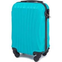 Wings Cestovní kufr skořepinový mini modrý