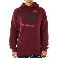 dd5b53a4724 Fox Armado Pullover Fleece heather burgundy