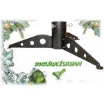 Stojan na vánoční stromek kovový rozkládací 2 SN (500x500x125)