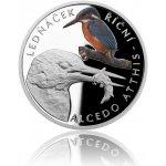 Česká mincovna Stříbrná mince Ohrožená příroda Ledňáček říční proof 16 g