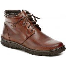 Bukat 208 hnědé pánské zimní boty