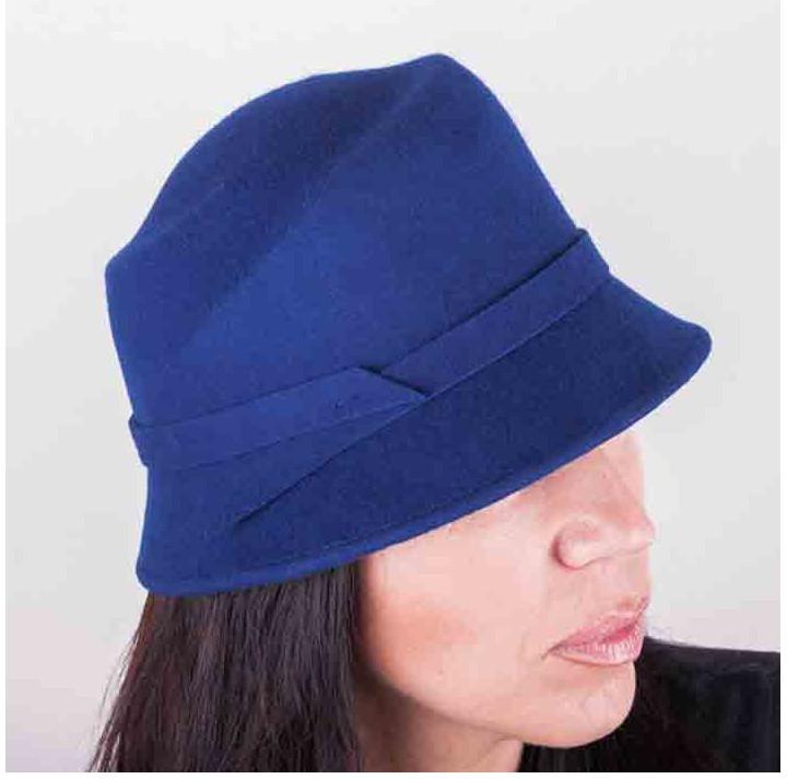 d212f6afae4 Assante Modrý dámský klobouk 86976 od 771 Kč - Heureka.cz