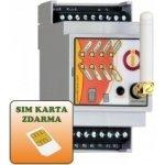 IQTD GS400 - GSM ovládání na DIN lištu, Bluetooth, hlas.samoobsluha, mobilní aplikace