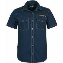 c25bacdf9fa Bushman Pánská Košile Driscoll tmavě modrá