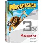 3x Madagaskar - kolekce 1-3