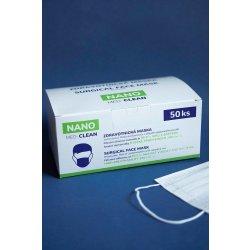Nano Medical Nanovlákenná rouška Nano Med.Clean bílá 50 ks