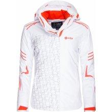 Kilpi DERINA bílá dámská lyžařská bunda
